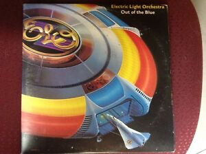 "ELO ""Out Of The Blue"" double vinyl LP. VG"