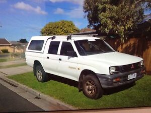 2001 Mitsubishi Triton Ute Leopold Geelong City Preview