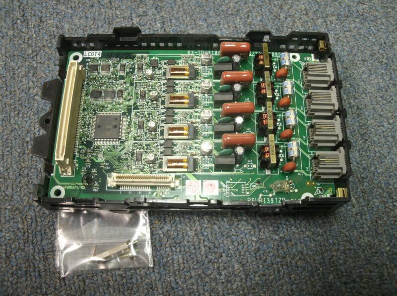 Panasonic KX-TDA50 Digital Hybrid IP PBX - KX-TDA5180 LCOT4 - 4 Analog Trunk