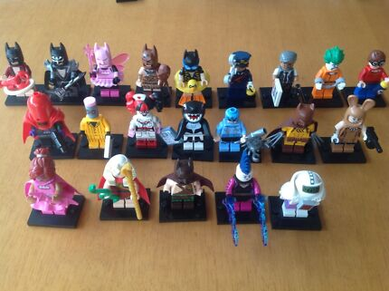 Lego batman the movie Minifigures plus bonus tartan batman