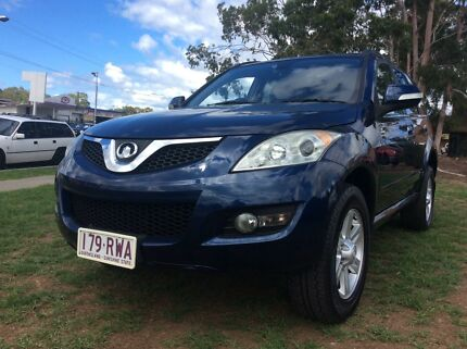 2011 Great Wall X240 4x4 wagon Low KM's Fully Optioned SUV Leumeah Campbelltown Area Preview