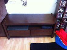 TV cabinet solid wood Carrara Gold Coast City Preview