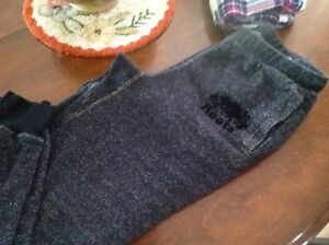 Roots black salt and pepper size xs