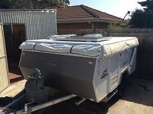 Camper trailer used Melton Melton Area Preview
