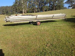 Irrigation pipes and trailer Robertson Bowral Area Preview