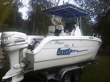 Power Cat - Sea Chaser CAT23 - Twin 2000 Evinrude 115 - 2 Stroke Forestdale Logan Area Preview