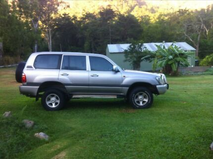 2001 Toyota LandCruiser SUV Cairns North Cairns City Preview