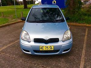 2005 Toyota Echo Hatch 4cyl 5 speed Nice Car 3 Months Rego Woodbine Campbelltown Area Preview