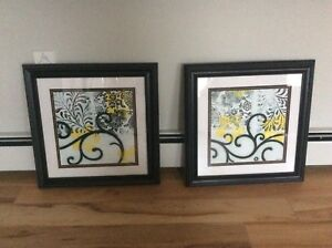 Black framed prints