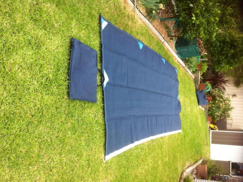 SUNBUSTER Solar Shade Long Wall And End Suit 15 Foot Awning