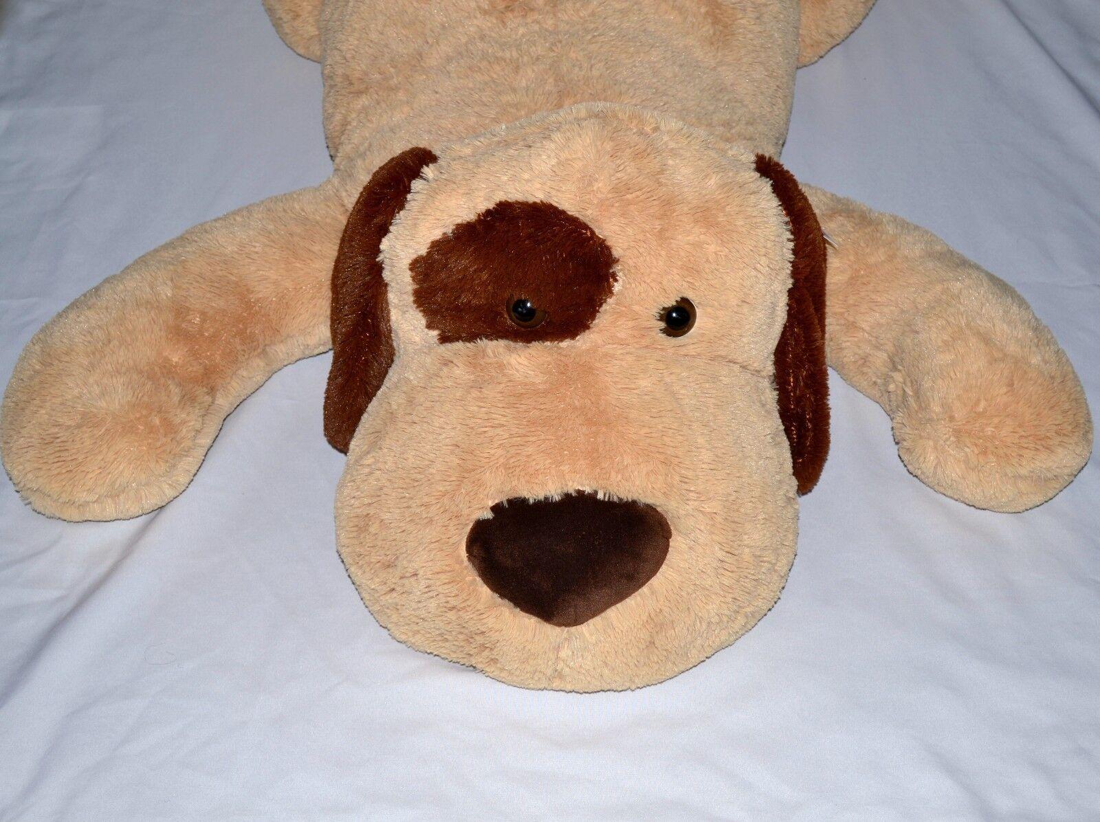 55 lifesize dakin plush dog giant stuffed animal 252450854134. Black Bedroom Furniture Sets. Home Design Ideas