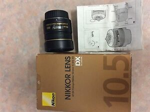 Nikon Nikkor fisheye lens 10.5 DX Karratha Roebourne Area Preview