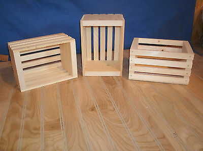 small wooden crates,wood storage crate,