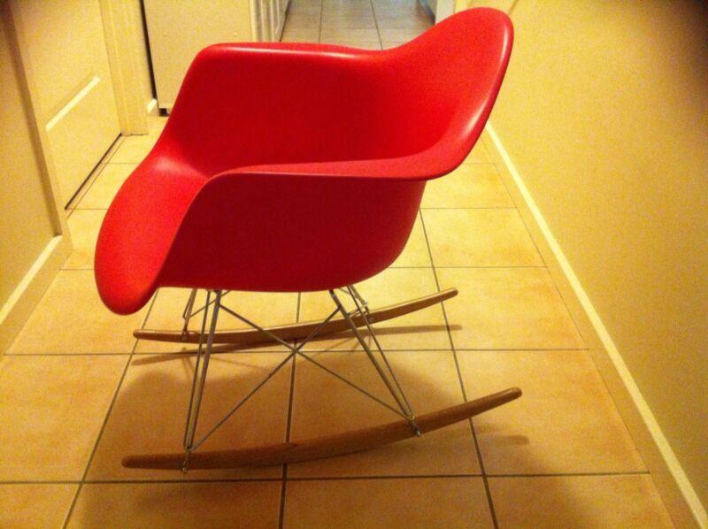 Replica Eames RAR Designer Red Retro Rocker Rocking Chair | Other Furniture  | Gumtree Australia Port Stephens Area   Nelson Bay | 1182512662