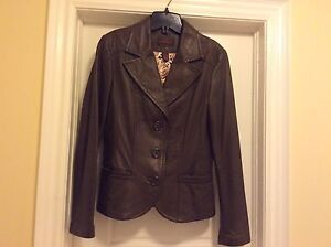 Various Danier Leather jackets Ladies size Small