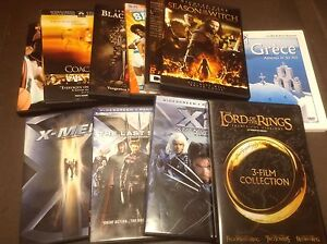 DVD divers X Men Lord of the Rings