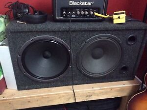 Cab 2x12 speaker Celestion et WGS Veteran 30