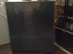 Free 54 inch projector tv