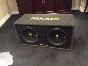 Kicker comp S brand new subs and amp