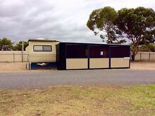 On-Site Caravan & hard annexe with fully enclosed verandah Adelaide CBD Adelaide City Preview