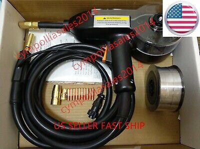Us Seller 10 Mig Spool Gun Replace Hobart Spool Runner 100 Aluminum Welding