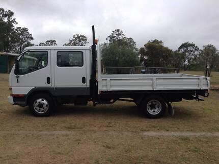 2004 Mitsubishi Canter Dual Cab 7 Seater Truck Nanango South Burnett Area Preview
