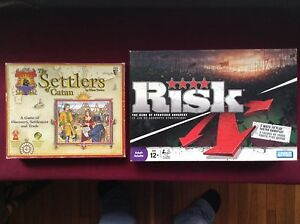 Settlers of Catan & Risk 2008 Edition