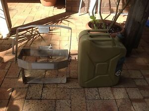 Jerry can and jerry can holder Kelmscott Armadale Area Preview