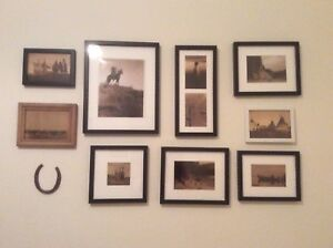 Picture frames with high quality photo reproductions