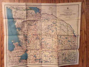 Old Maps of Algonquin Park & Ontario London Ontario image 7
