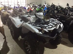 2019 Yamaha grizzly eps white only $11995 plus tax and liscence