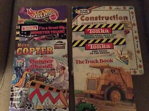 Kids books mostly Tonka Adventures