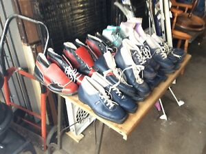 Assorted Sized Cross Country Ski Boots