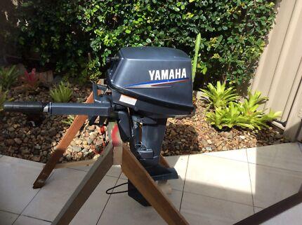 Yamaha outboard motor.