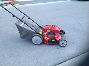 Mulch  or  bag Troy -Bilt  lawnmower