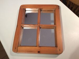 Antique Window (with mirrors)