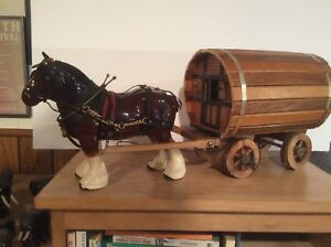 Draft horse and wagon collection.