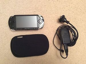 PSP console, charger, backpack, protective cases , games, videos Mosman Mosman Area Preview