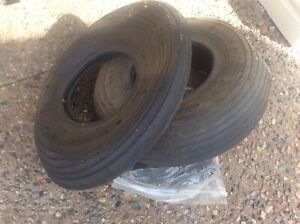 Wheel barrow tires and tubes