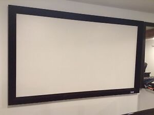 Panasonic LCD Projector/72 inch Screen/Ceiling Mount/$1200