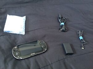 Ps vita with all hookups and game $150