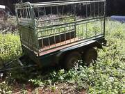 Tandem caged trailer Lismore Lismore Area Preview