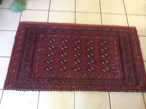 TWO PERSIAN HANDMADE  CARPETS 1.25m X .70cms Wahroonga Ku-ring-gai Area Preview
