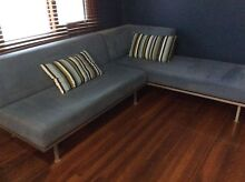 Suede modular lounge Putney Ryde Area Preview
