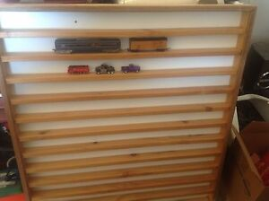 WALL DISPLAY CABINETS X 2 MATCHBOX MODEL CARS HO OO TRAINS Lockleys West Torrens Area Preview
