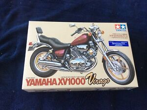 Tamiya 1/12 scale Yamaha XV1000 Verago model kit