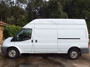 2008 Ford Transit LWB, 59000kms, 6spd man, a/c, cd,cargo barrier Tanawha Maroochydore Area Preview