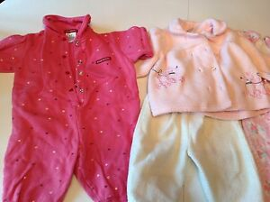 Baby girl winter clothes lot