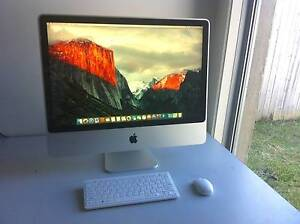 iMac 2008 Great condition, El Capitan 10.11.6 Caloundra Caloundra Area Preview