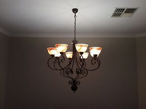 Chandelier style light fittings Canning Vale Canning Area Preview